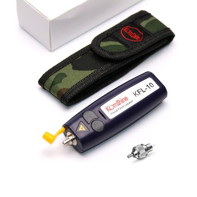 Fiber Optical Visual Fault Locator Pocket Size VFL Optical Fiber Cable Fault Locator