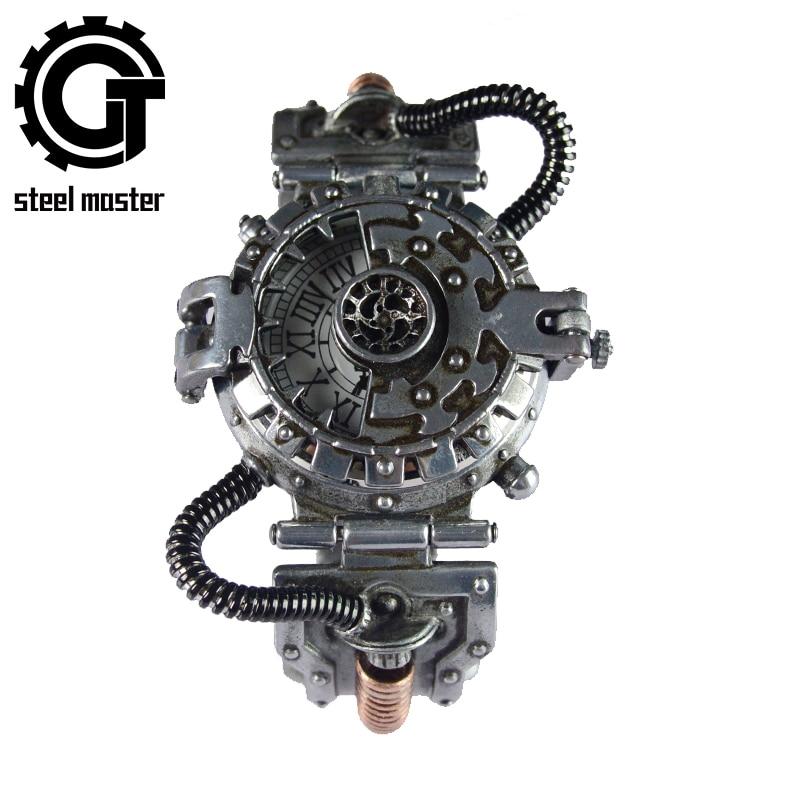 Steampunk Watch Chronograph Relojes Hombre Quartz Watches Automatic Watches Cuarzo Original Reloj De Pulsera De Movimientos
