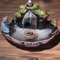 Ceramics Incense Censer Joss Stick Holder Incense Burner Meditation Home Sleep Aid Tea Ceremony Durable Bedroom Teahouse