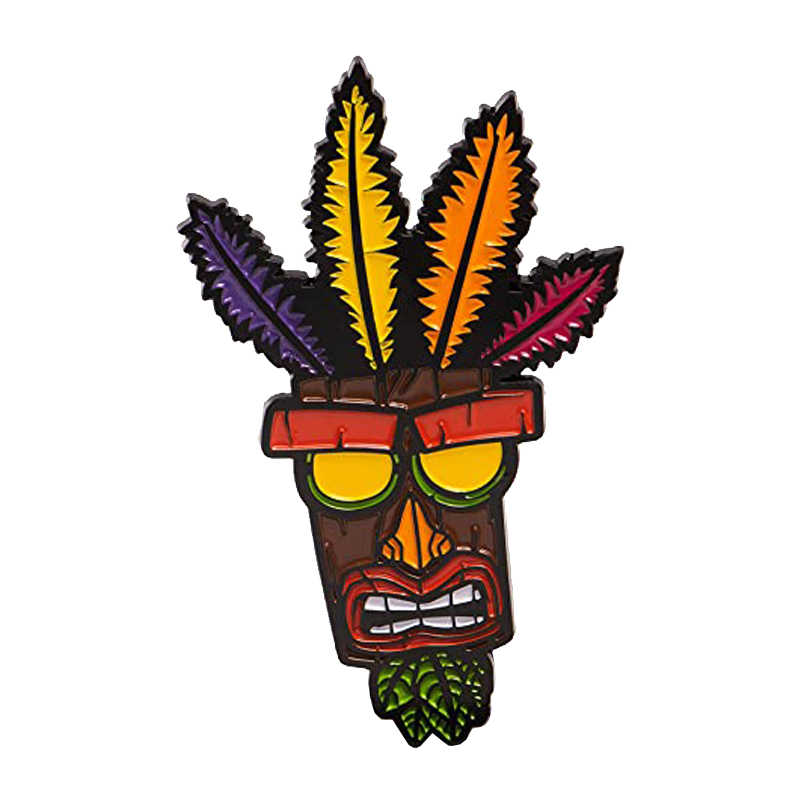Logam Crash Bandicoot Pin