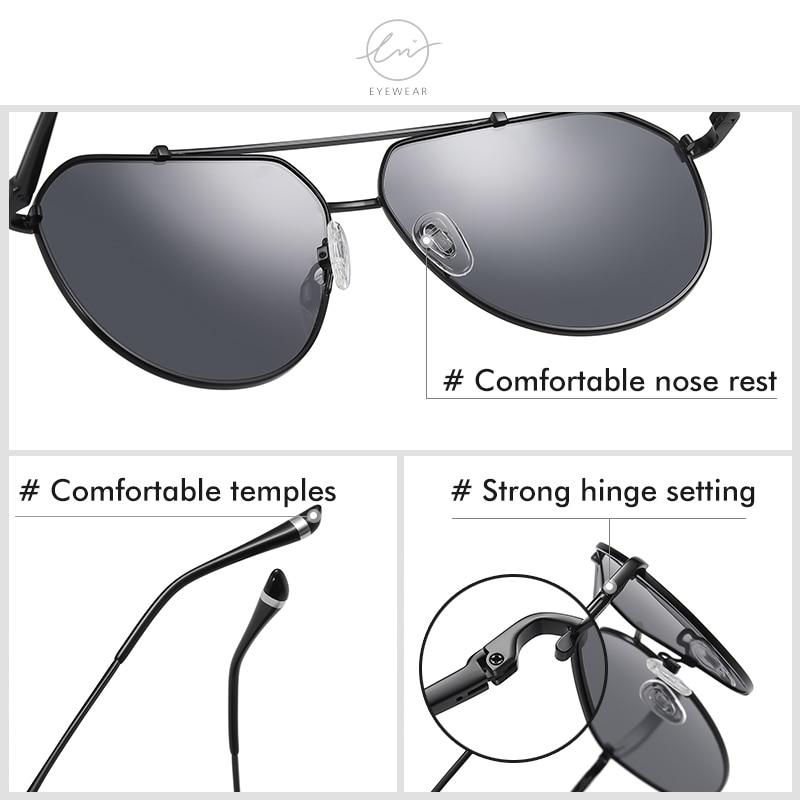 Lm брендовые дизайнерские винтажные поляризационные солнцезащитные