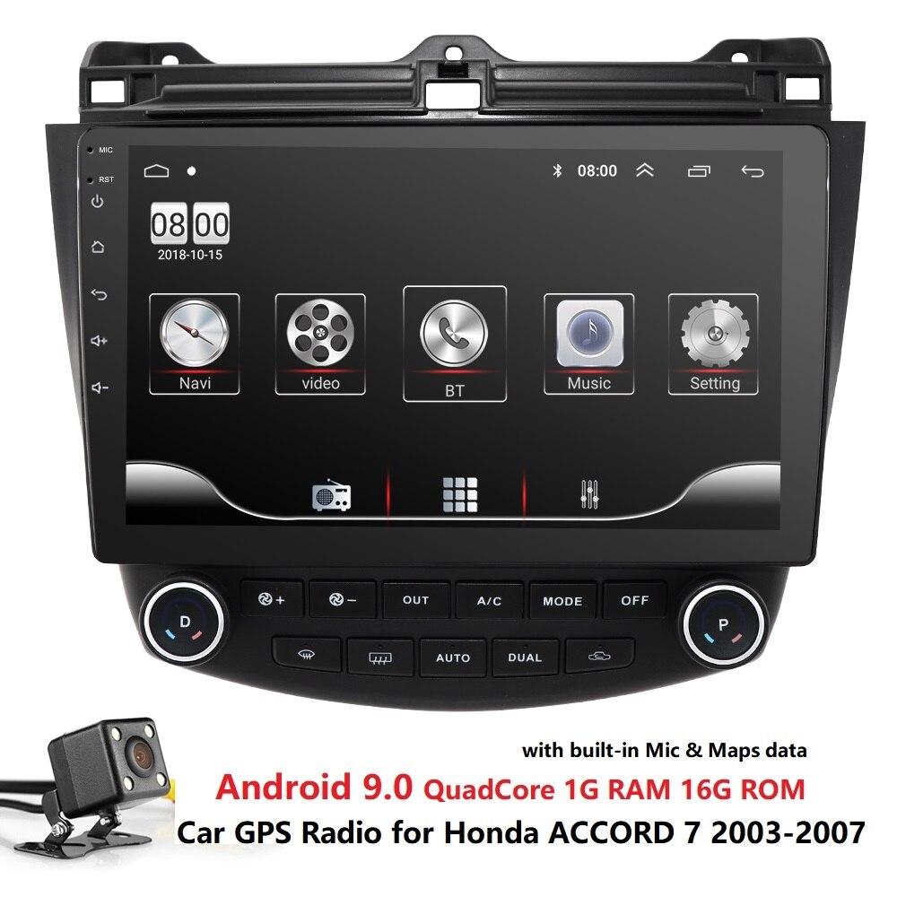 Radio GPS Multimedia-Player Mirrorlink 2004 Headunit 2005 2007 Honda Accord 2006 Car