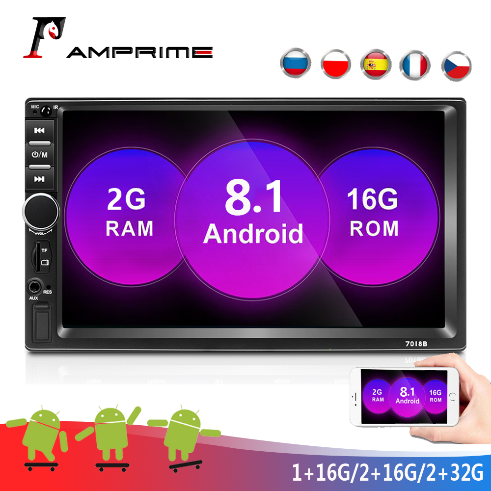 AMPrime 2 din Car Multimedia Player 7