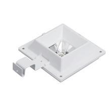 6led zasilany energią słoneczną biały ciepły biały Super jasny okap lampa podwórzowa zewnętrzna wodoodporna tanie tanio NoEnName_Null CN (pochodzenie)
