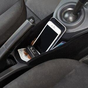 Image 3 - Caixa de armazenamento do centro do braço do carro para smart 453 fortwo forfour 2015 2019 recipiente luva organizador automático para mercedes acessórios