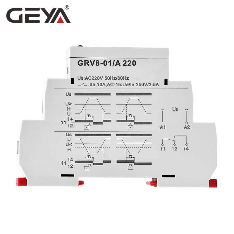 Business & Industrial GEYA Over Under Voltage Monitoring Relay ...