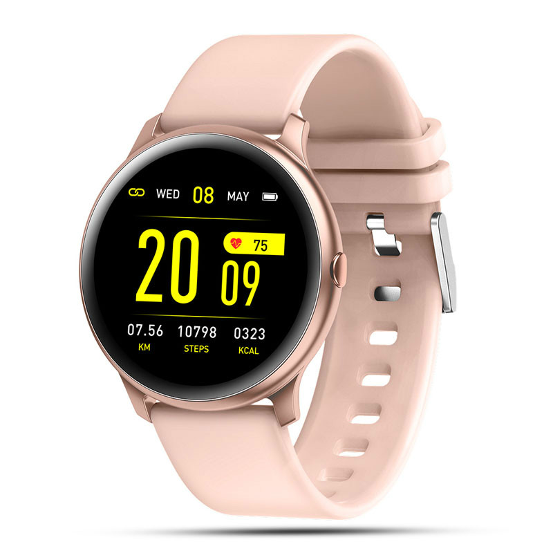 New Women's Smartwatch IP68 Waterproof Wearable Device Heart Rate Monitor Sports Smart Watch For Android IOS Long Standby