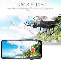 Mini drone GLOBAL DRONE GW26 1080P HD Camera Wifi FPV Voiced Control Remote Toys Altitude Hold RC Training Quadcopter Drone