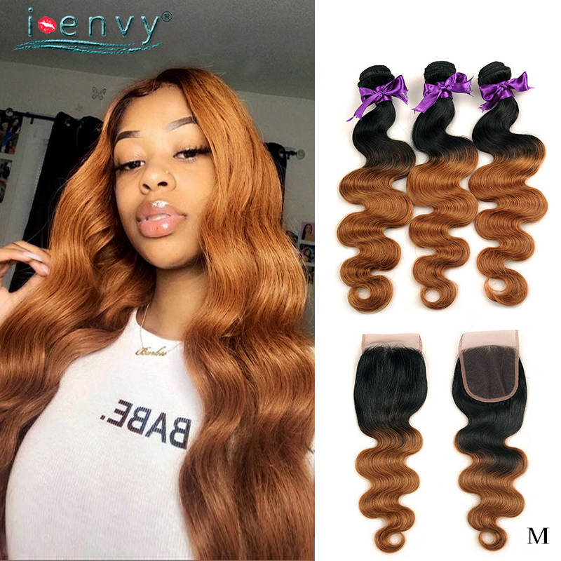 <font><b>Peruvian</b></font> Hair Weave <font><b>Bundles</b></font> <font><b>With</b></font> <font><b>Closure</b></font> <font><b>Body</b></font> <font><b>Wave</b></font> <font><b>Bundles</b></font> <font><b>Ombre</b></font> Blonde Colored Human Hair <font><b>Bundles</b></font> <font><b>With</b></font> Lace <font><b>Closure</b></font> Non-Remy image
