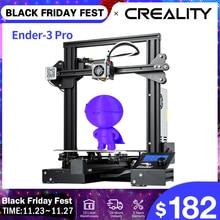 CREALITY – Imprimante 3D PRO avec plaques de construction magnétique, modèle mis à jour, KIT, alimentation MeanWell, reprend en cas de panne de courant, masques, Ender 3