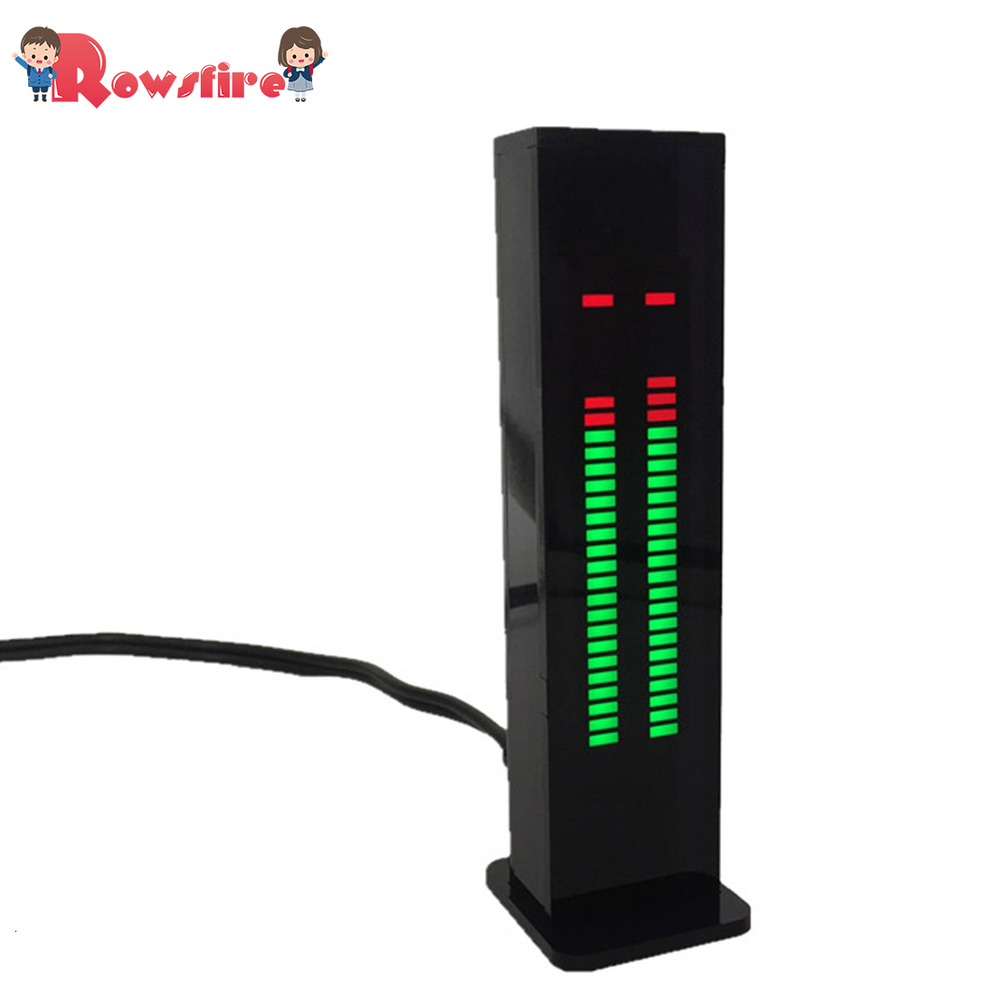 AS30 Professional Music Spectrum Display Car Amplifier Audio Modification Level Indicator - Bulk Parts/Finished Product