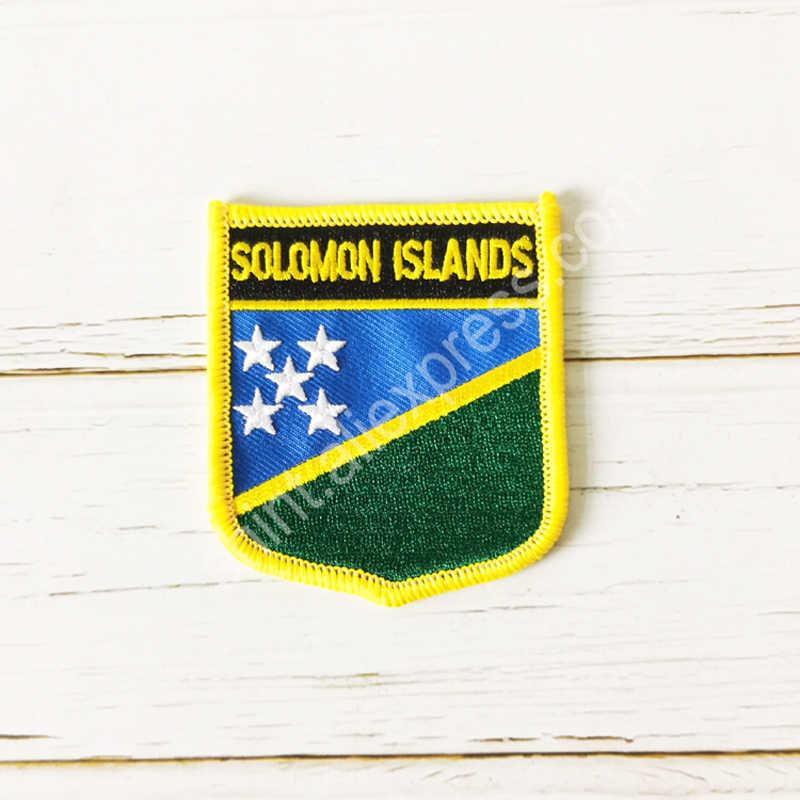 Salomon hafty krajowe tarcza patch kwadratowy plaster i przypinka jeden zestaw akcesoria odzieżowe z powrotem opaska na ramię