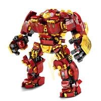 Marvel Iron Man Hulkbuster War Machine Building Blocks Super Heroes Avengers Infinity War Children Kids Toys Gifts