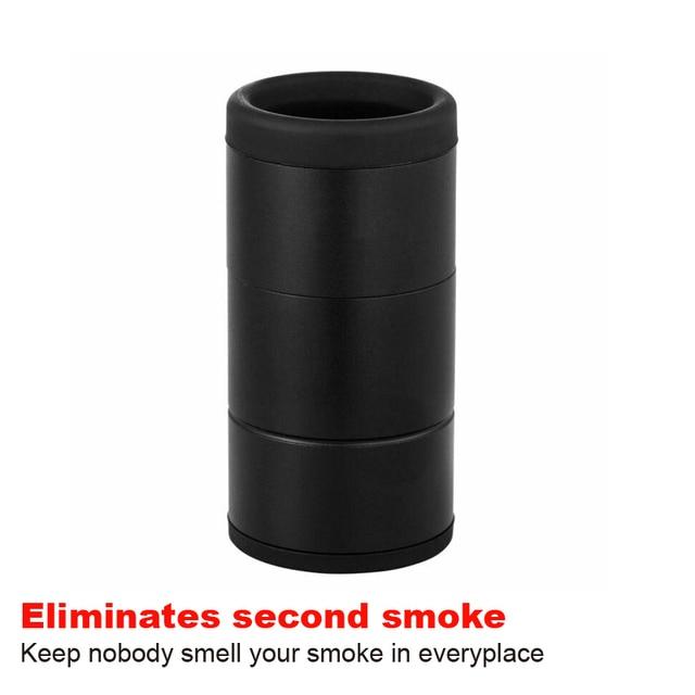 กำจัดกลิ่นควันเครื่องกรองอากาศส่วนบุคคลเดินทางขนาดเปลี่ยนไม่มีกลิ่นH13 Smokebuddy
