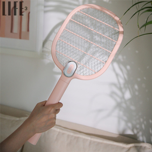 3life Electric Mosquito Swatter 3Layer Mosquito Dispeller Rechargeable LED Electric Insect Bug Fly Mosquito Killer Racket