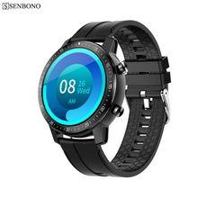 Умные часы senbono 2020 для мужчин женщин Смарт умные с длинным