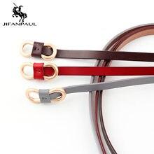 Ремень jifanpaul Женский элегантный винтажный кожаный пояс в