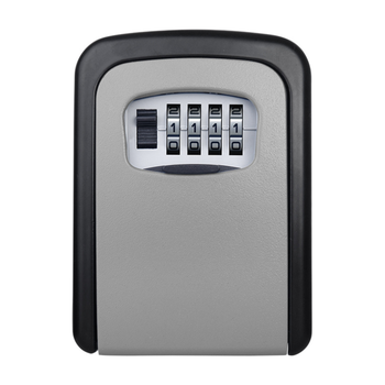 Keybox Lock Key Safe Box Outdoor Wall Mount Combination Password Lock Hidden Keys Storage Box Security Safes For Home Office master lock key safe box wall mount combination password lock metal alloy garage factory outdoor keys storage box security safes