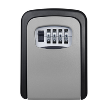 Keybox מנעול כספת חיצוני קיר הר שילוב סיסמא נעילה נסתרת מפתחות אחסון תיבת אבטחת כספות לבית משרד