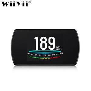 Image 1 - WiiYii T800  HUD OBD2 head up display car Screen On board Car HUD GPS Overspeed Warning Windshield Projector auto accessories