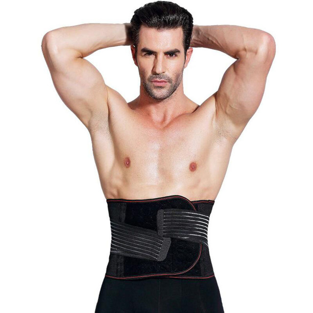 Mens Slimming Corset Body Shaper Waist Trainer Belts  Waist Support Sweat Underwear Strap Modeling Shapers 3