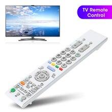 RM GD004W ABS الأبيض تلفزيون التلفزيون التحكم عن بعد تحكم استبدال لسوني تلفاز LCD