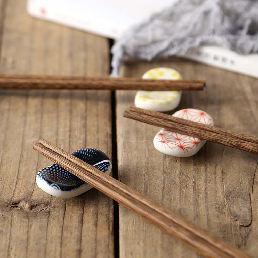 Chopsticks Holder Ceramic Stand Home Kitchen Chopstick Rest Stand Japanese Decorative Eco-Friendly Spoon Fork Tableware
