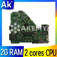 NEW!!! Laptop Motherboard For ASUS X550C X550CC X550CL A550C K550C X550C Y581C X550CA Mianboard W/ E1 2100 2 cores 2GB RAM|Placas-mães|   -