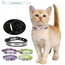 Cat-Collar Name Customized Reflective And Phone-Number Engraving