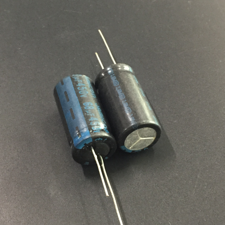 2Pcs Electrolytic Capacitors 450V 10uF Higt Quality 10UF 450V Capacitor