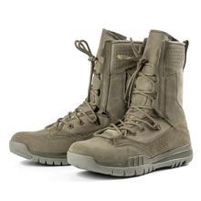 Buty wojskowe wojskowe męskie taktyczne buty wojskowe szałwia zielone buty taktyczne męskie gumowe buty wojskowe połowy łydki mężczyzn tanie tanio CQB SWAT CN (pochodzenie) Podstawowe Krowa Zamszu ANKLE Gumką Pasuje prawda na wymiar weź swój normalny rozmiar Okrągły nosek