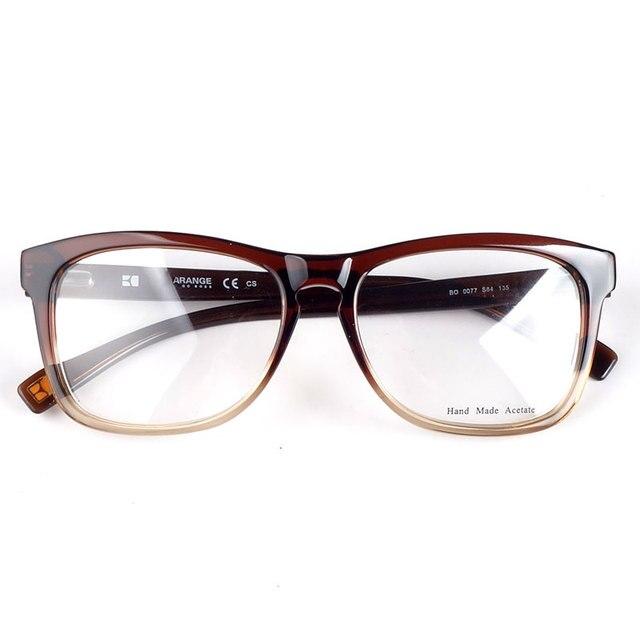נשים אצטט מותג מעצב משקפיים מסגרות