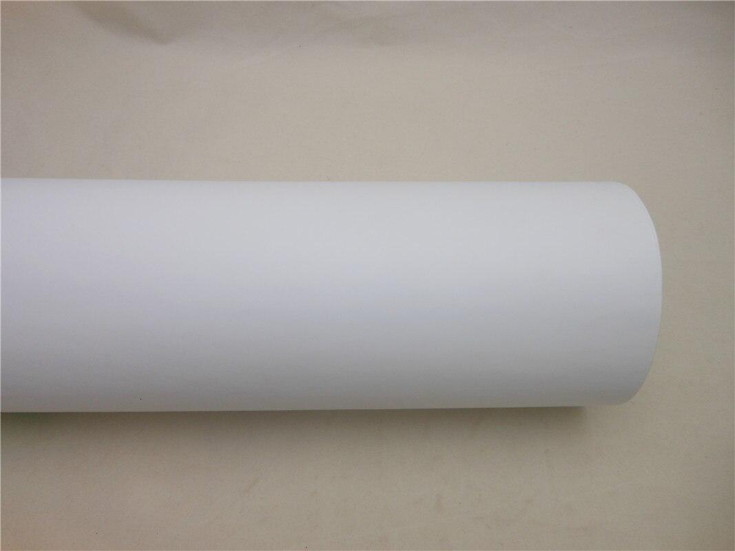 Film vinyle auto adhésif blanc imprimable pour impression numérique autocollants autocollant de voiture taille: 0.914*50 m/Roll - 6