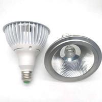 15W 20W E27 PAR38 COB LED بقعة ضوء لمبة مصباح داخلي أضواء AC 110V 220V 240V الدافئة الباردة الأبيض Lampad-في أنابيب ومصابيح LED من مصابيح وإضاءات على