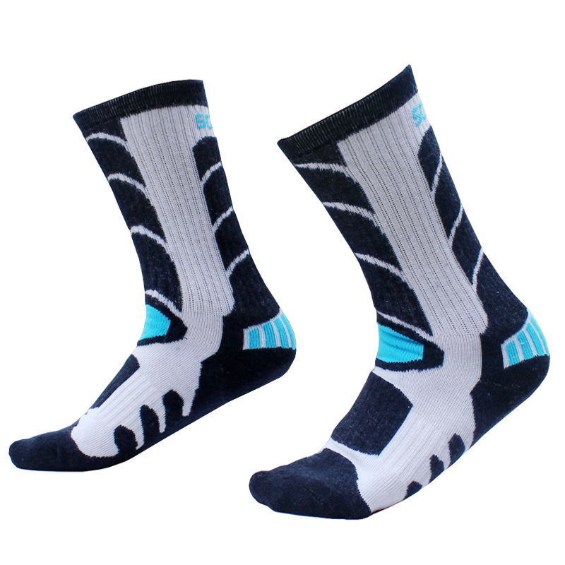Sports Riding Socks Anti-slip Anti-sweat Breathable Children Outdoor Roller Skating Skiing Cycling Hosiery Footwear Accessories