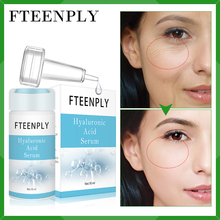 FTEENPLY Hyaluronic Acid Serum Whitening Anti-Wrinkle Essence Repair Moisturizing Anti-Aging Face Shrink Pore Facial Skin Care