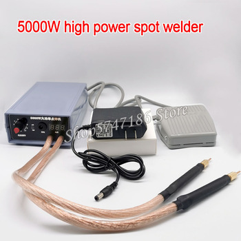 Máquina de soldadura por puntos de 5000W, soldador por puntos de batería 18650, producto para soldar tiras de níquel 1