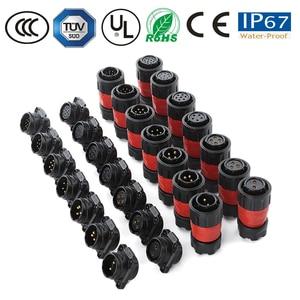 IP67 M20 2/3/4/5/7/9/12 контактный водонепроницаемый разъем, Круглый пастический штекер, штекер, монитор/ТВ-кабель/панель питания, разъем