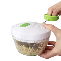 Hand Chopper Manual Rope Food Processor Silcer Shredder Salad Maker Ground onion garlic chopping device A1|Kitchen Gadget Sets| |  -