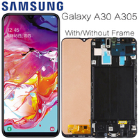 AMOLED For Samsung's Galaxy A30 SM A305F Display lcd Screen replacement for Samsung A30 A305 A305F display lcd screen module
