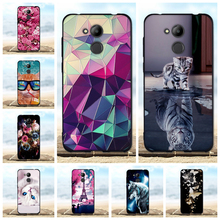 For Case Huawei Honor 6C Pro / Honor V9 Play Cover Luxury Silicone TPU Thin Black Shell For Honor 6C Pro / V9 Play Phone Cases аксессуар защитное стекло для huawei honor 6c pro v9 play solomon 2 5d full cover blue 2575