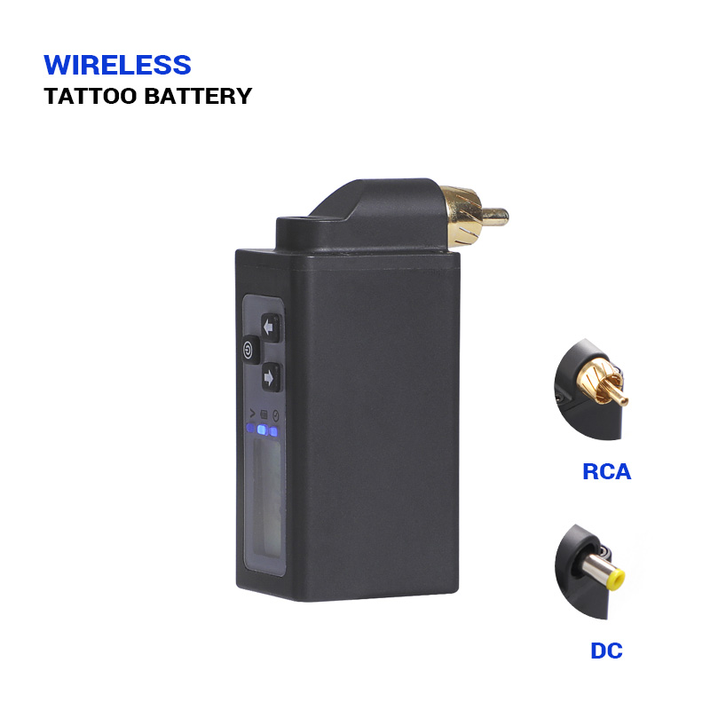 Stigma New Wireless Tattoo Power Supply DC & RCA Connection 2000mAH Tattooes Pen Lithium Battery Tattoos Machine Supplies P197