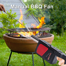 Portable Grill Blower Cooking-Stove-Tool Kitchen-Accessories Outdoor Barbecue Handheld