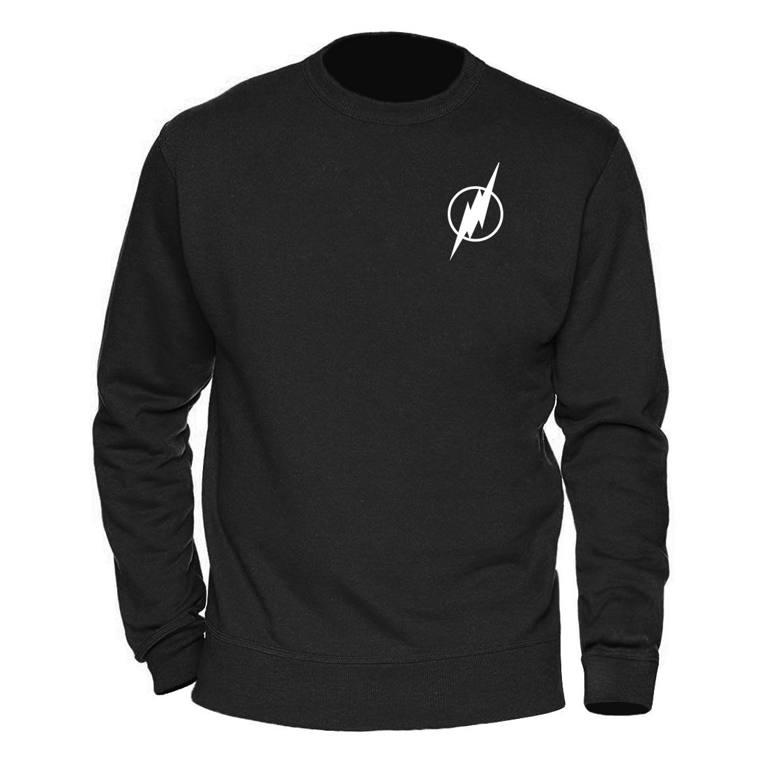 Superman Series Men's The Flash Sweatshirt Men Sweatshirts Man Winter Autumn Warm Graphics Design Streetwear Mens Clothing