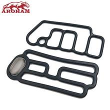 Aroham лучшее качество 15845 R70 A01 + 15815 R70 A01 Подлинная соленоидная прокладка головки цилиндра VTEC прокладка для Honda Accord Odyssey