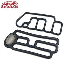 Aroham Beste Qualität 15845 R70 A01 + 15815 R70 A01 Echtem Zylinder Kopf Magnet Dichtung VTEC Dichtung Für Honda Accord Odyssey