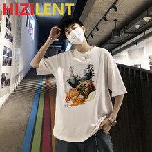 Demon slayer ubrania anime Rengoku Kyoujurou Manga drukowane Unisex t-shirty harajuku japońska moda uliczna graficzna para tshirt