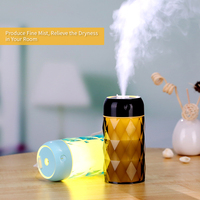 Hot New Multifunctional Humidifier Simple USB Humidifier Handy Aroma Diffuser Humidifier with Mini LED Light Fan|  -