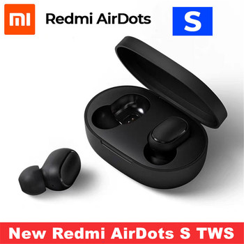 New Xiaomi Redmi AirDots S Bluetooth 5.0 Wireless Earphone TWS Left Right Low Lag Mode Bluetooth 5.0 Noise reduction Headset