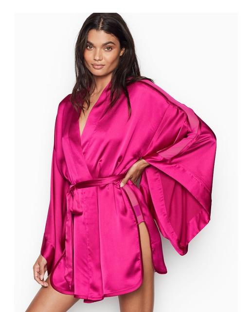 Satin Robe Sleepwear  1